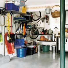 Spring Cleaning: Create a Garage Storage Plan - Make the most of untapped potential in your garage!