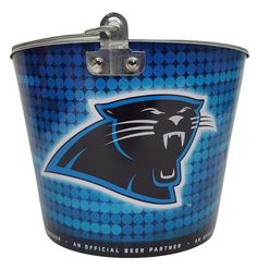 Carolina Panthers Miller Lite Beer Bucket New W/O Tags Holds up to 6 Bottles #MillerLite #CarolinaPanthers