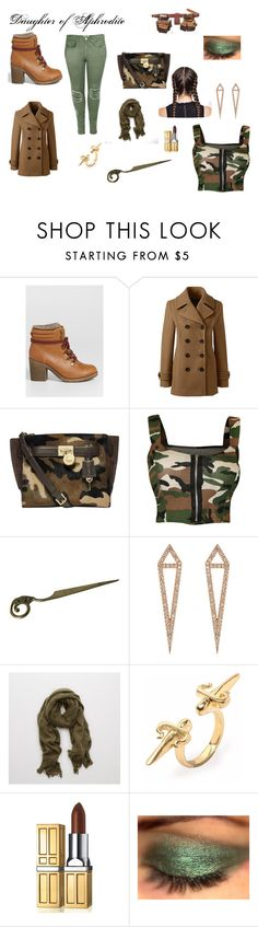 """""""Daughter of Aphrodite"""" by sparklingpearl619 on Polyvore featuring maurices, Lands' End, Michael Kors, WearAll, Eva Fehren, Aerie, LeiVanKash, Elizabeth Arden, Boohoo and Beauty"""