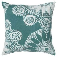 Ione Pillow in Teal