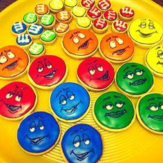 m&m'sアイシングクッキー