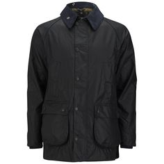 Get Barbour Men's Heritage SI Bedale Wax Jacket - Navy now at Coggles - the one stop shop for the sartorially minded shopper. Free UK & EU delivery when you spend £50.