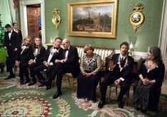 Souza captured the 2016 Kennedy Center Honorees in the Green Room. Pictured from left, members of the Eagles, musician James Taylor, gospel and blues singer Mavis Staples, screen and stage actor Al Pacino, and Argentine pianist Martha Argerich