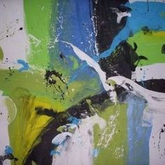 Choose your favorite beautiful abstract paintings from many of my available designs. All beautiful abstract paintings ship within 48 hours - http://metalmanfineart.storenvy.com