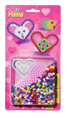 #HamaBeads #StarterPacks #Heart #Valentines