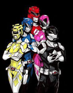 Power Rangers Fan Art