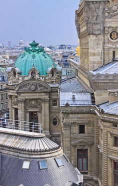 View Over Opera, Paris
