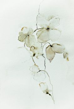 original watercolor blossom by annemiekgroenhout on Etsy, €25.00
