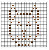 Ravelry: Cat Bobble Chart pattern by Kari Philpott