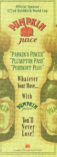 Poster Pumpkin Juice