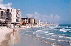 Daytona!! I miss yearly vacations to this beach.