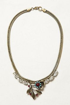 Broderie Necklace  Anthropologie