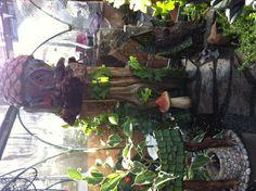John's newest fairy garden. A work in progress. #fairy #garden #faerie #glasshousenursery #ckont #chatham #ontario http://www.facebook.com/theglasshousenursery #windsor #london #amherstburg #sarnia #wallaceburg #love #garden #kids #crafts #diy