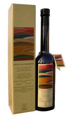 Aceite de oliva virgen extra. Love the earth tones on this #packaging PD