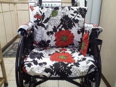 Handmade Rita Wheelchair Cover Set. Made to order by ClineCovers, $90.00