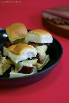 | Hawaiian Pork Tenderloin Sliders | http://grillinfools.com