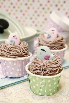 Cupcakes de Canela y Chocolate