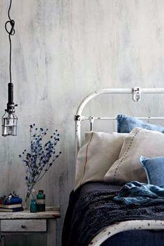 Indigo blue decor..
