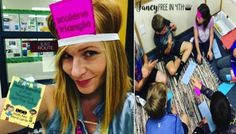GEOMETRY HEAD BANDS GAME! Fancy Geometry ideas for the 3rd-5th grade classrooms! Have your kids engage in geometry in these fun ways! Freebies included!