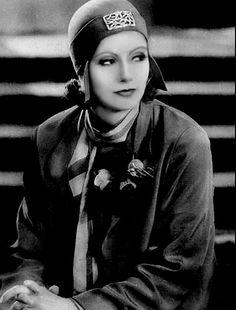 LOVE the hat piece - Greta Garbo - @~ Mlle