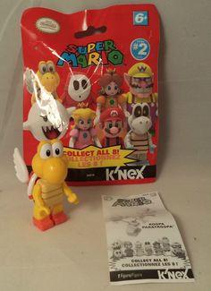 Koopa Paratroopa Super Mario Bros Series 2 K'Nex Mini Figure New #KNEX
