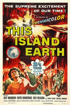 1955 ... This Island Earth..Where are Mike and the boys?