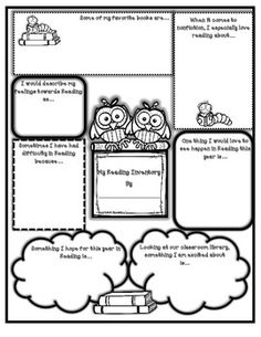 What better way to get to know where your students stand in terms of likes and dislikes, self-confidence, and aspirations than to simply ask them. Interest Inventory Elementary, Reading Interest Inventory, Reading Interest Survey, Reading Survey, 3rd Grade Reading, Student Reading, Teaching Reading, Free Reading, Teaching Ideas