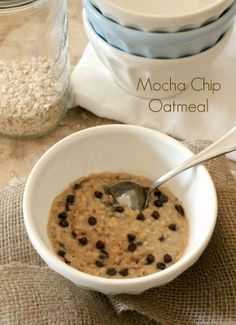 Mocha Chip Instant Oatmeal