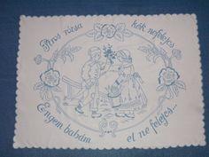 Hungarikum ~ falvédő Social Security, Elsa, Personalized Items, Cards, Brogue Shoe, Embroidery, Maps, Playing Cards, Jelsa