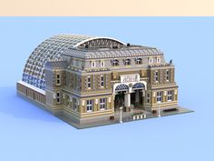 Explore fastbjorn's photos on Flickr. fastbjorn has uploaded 28 photos to Flickr. Lego Train Station, Lego City Train, Lego Trains, Gare Lego, Modele Lego, Lego Pictures, Lego Modular, Lego Construction, Lego Room