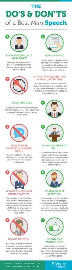 Best Man Speech Format Read Our Tips Infographics Pinterest - speech format