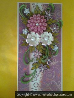 What Is Quilling Paper | Paper quilling courses in Mumbai: Neetu's Hobby Classes