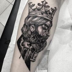 16 Forceful King Tattoos