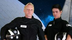 Commander Hovardsen and Wing Commander Hope