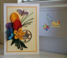 Neli Quilling Art: Preparation for Easter Holidays - 2 Quilling Work, Neli Quilling, Quilling Cards, Paper Quilling, Quilling Patterns, Quilling Designs, Paper Art, Paper Crafts, Easter Holidays