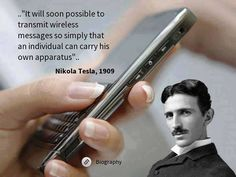 """""""If Nikola Tesla had not been censured, we could have been traveling between the stars by now..."""" - Nassim Haramein"""