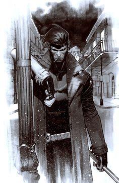Comic Book Artwork Gambito