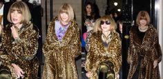 """Poderosa editora da """"Vogue"""", Anna Wintour repete casaco quatro vezes em uma semana"""