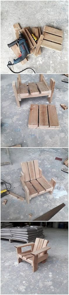 Arranging the house with the Adirondack chair piece design of the wood pallet is simply a masterpiece. Take some pallet plank stacks that are in the rough texture and put it in the vertical positioning over one another to create a chair design. You will be finding it so inspiring for sure.