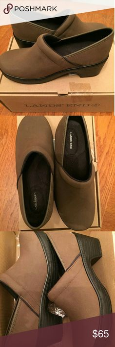 SALE! LANDS END CAMDEN CLOGS!! New in box. Final drop! Shoes