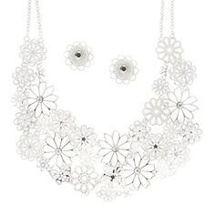 Claire's Accessories Girls Silver Filigree Flower Statement Necklace and Stud Earrings Claire's http://www.amazon.com/dp/B00V9CNR6W/ref=cm_sw_r_pi_dp_xqjAvb1XMZSA5