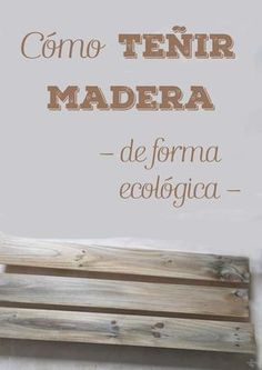 teñir madera de forma ecológica Cómo teñir madera de forma ecológica Cómo teñir madera de forma ecológica Farmhouse Living Room Decor Hanging Planter with Greenery or Hand Painted Furniture, Diy Furniture, Dyi, Wood Pallets, Wood Art, Wood Crafts, Decoupage, Diy Projects, Woodworking