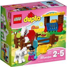 Jual lego online Lego duplo 10806 horses Condition: original in sealed box Idr: (exclude ongkir&sewaktu-waktu dpt berubah) Contact: Wa: 081912663777 Line: king. Lego Duplo Sets, Lego Duplo Town, Kids Toy Shop, Toys Shop, Kids Toys, Lego Online, Figurine Lego, Horse Adventure, Hay Barn
