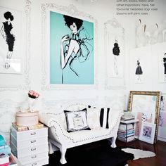 Megan Hess's studio