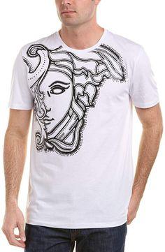 f8ae9d7a99 Boutiques. Versace Medusa T ShirtBlack PrintColor ...