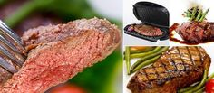 Grilling delicious steaks on your Foreman Grill is easy and super fast. Try some of our delicious steak recipes!