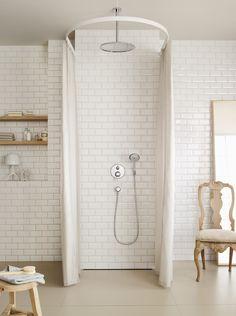 Classic design: #Hansgrohe #Raindance Overhead Shower