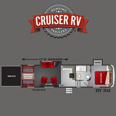 Travel in-style and take your BIGGEST toys with you! With a garage and comfortable living areas, space won't be a problem while headed out for your next adventure! Fifth Wheel Toy Haulers, Rv Trailers, Wide Body, A 17, Travel Style, Garage, Adventure, Space, Toys