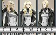 claymore anime - Google Search