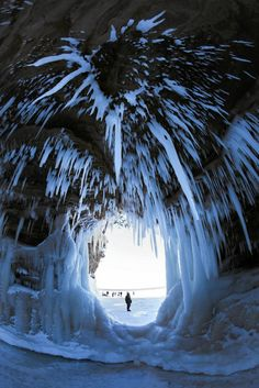 Apostle Islands (Lake Superior) Ice Caves                                                                                                                                                     More